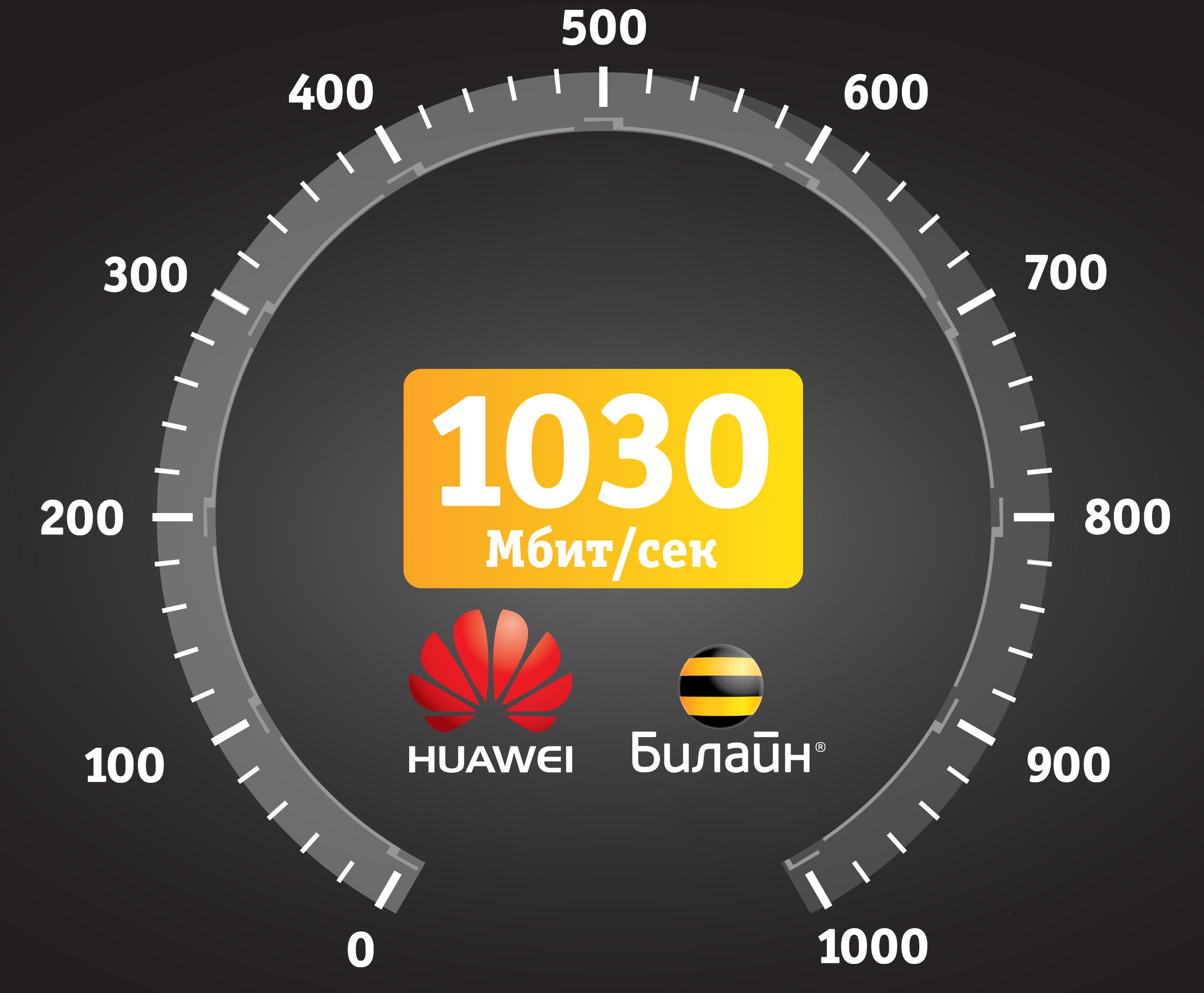«Билайн» протестировал мобильный интернет на скорости 1 Гбит/с 1