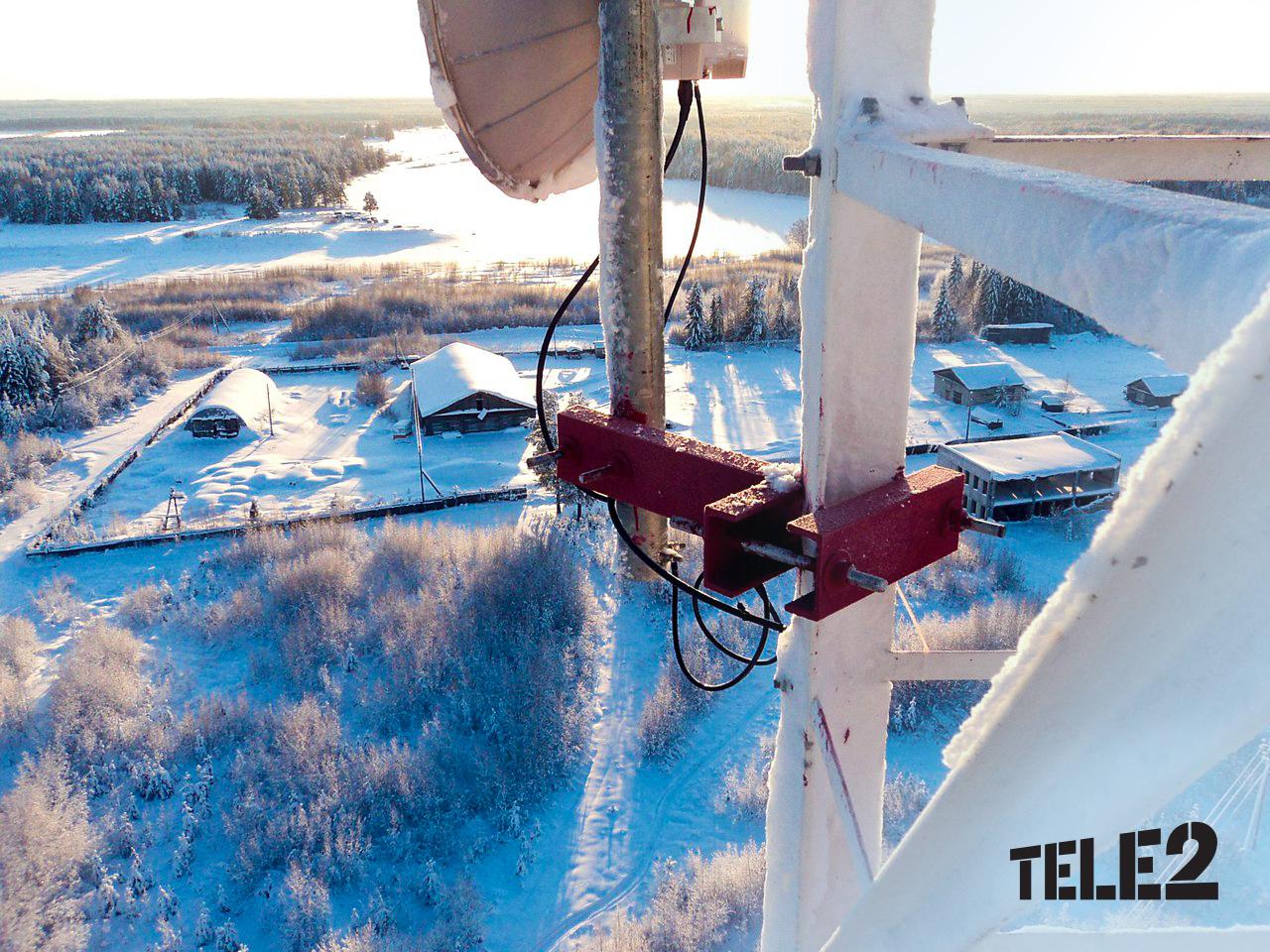 Tele2 определила самые «трафиковые» 4G-места Заполярья 1