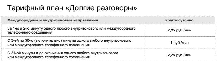 Изменение тарифов Ростелеком в Мурманске 1