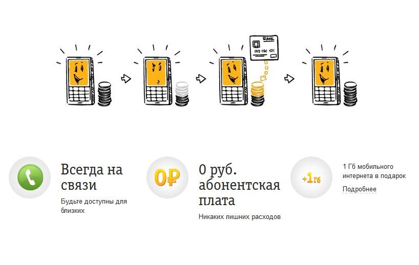 Билайн предлагает за подключение опции «Автооплата» 1 ГБ 1