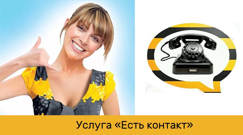 Услуга «Есть контакт» от Билайн будет платной! 1