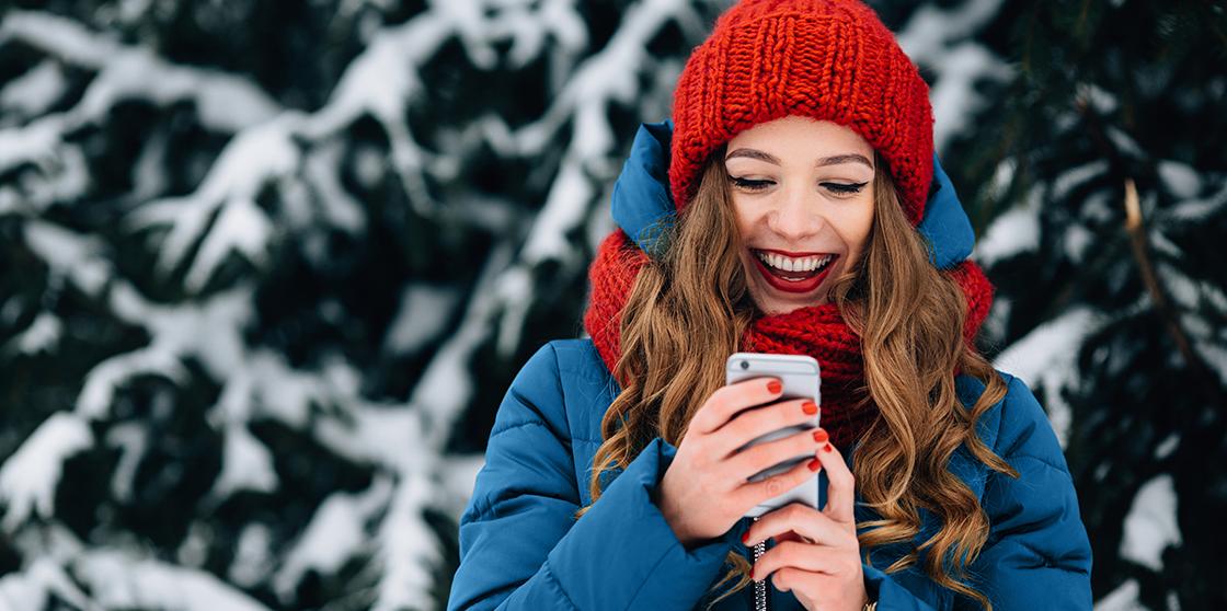 На новогодние праздники абоненты DANYCOM.Mobile выбрали SMS 1