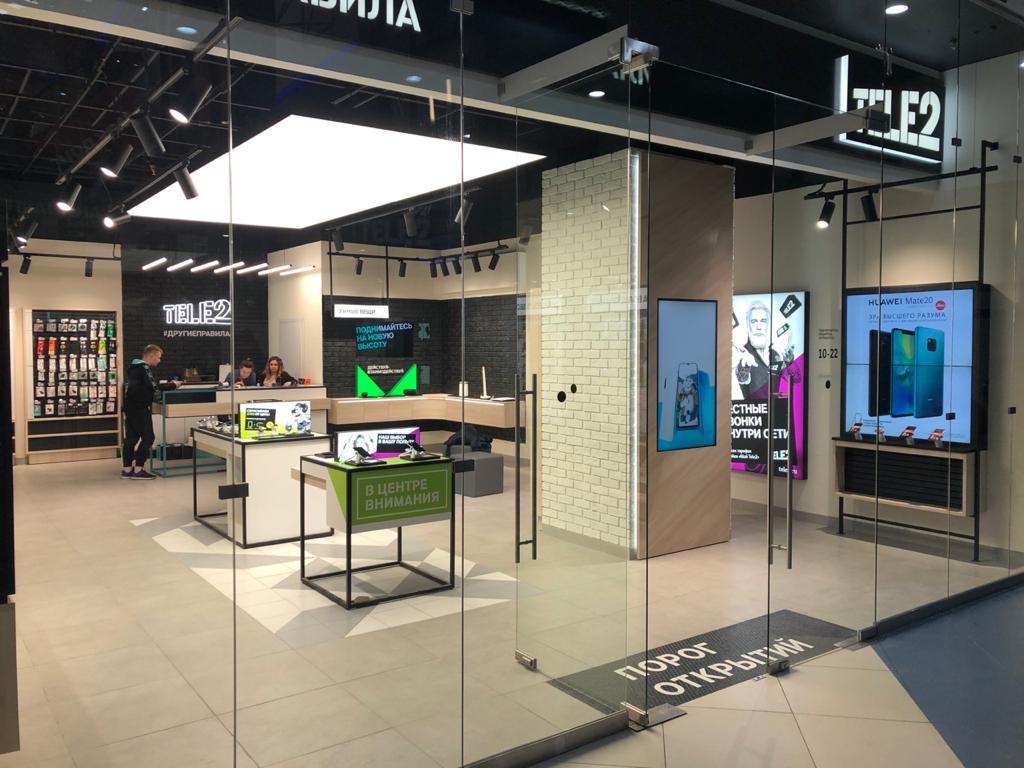 В Мурманске открылся первый digital-салон Tele2 1