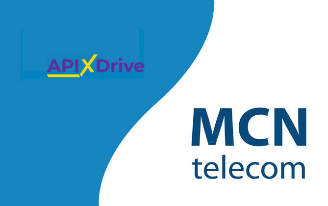 MCN Telecom завершил интеграцию c онлайн конструктором Apix-Drive 1