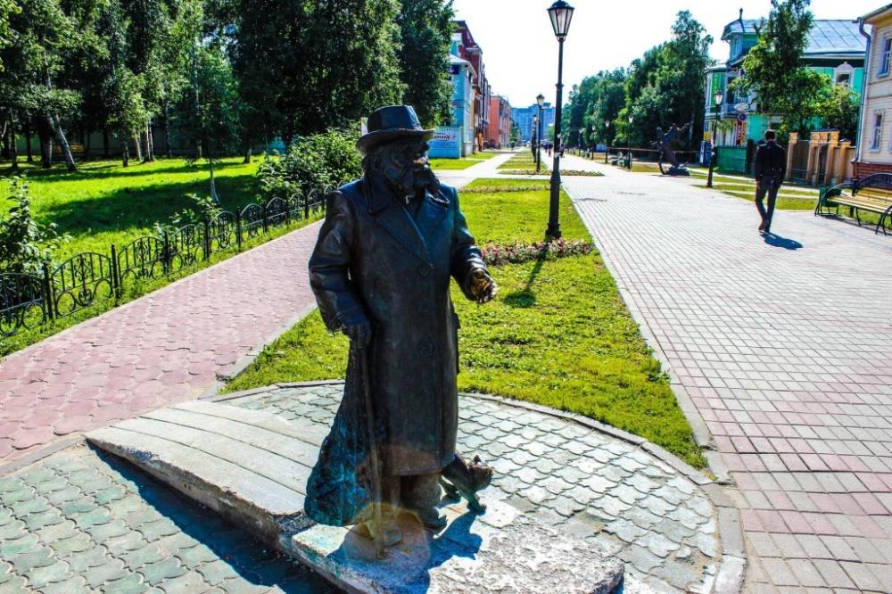 «Ростелеком» подготовил к летнему сезону сеть Wi-Fi на пешеходном проспекте Чумбарова-Лучинского в Архангельске 1