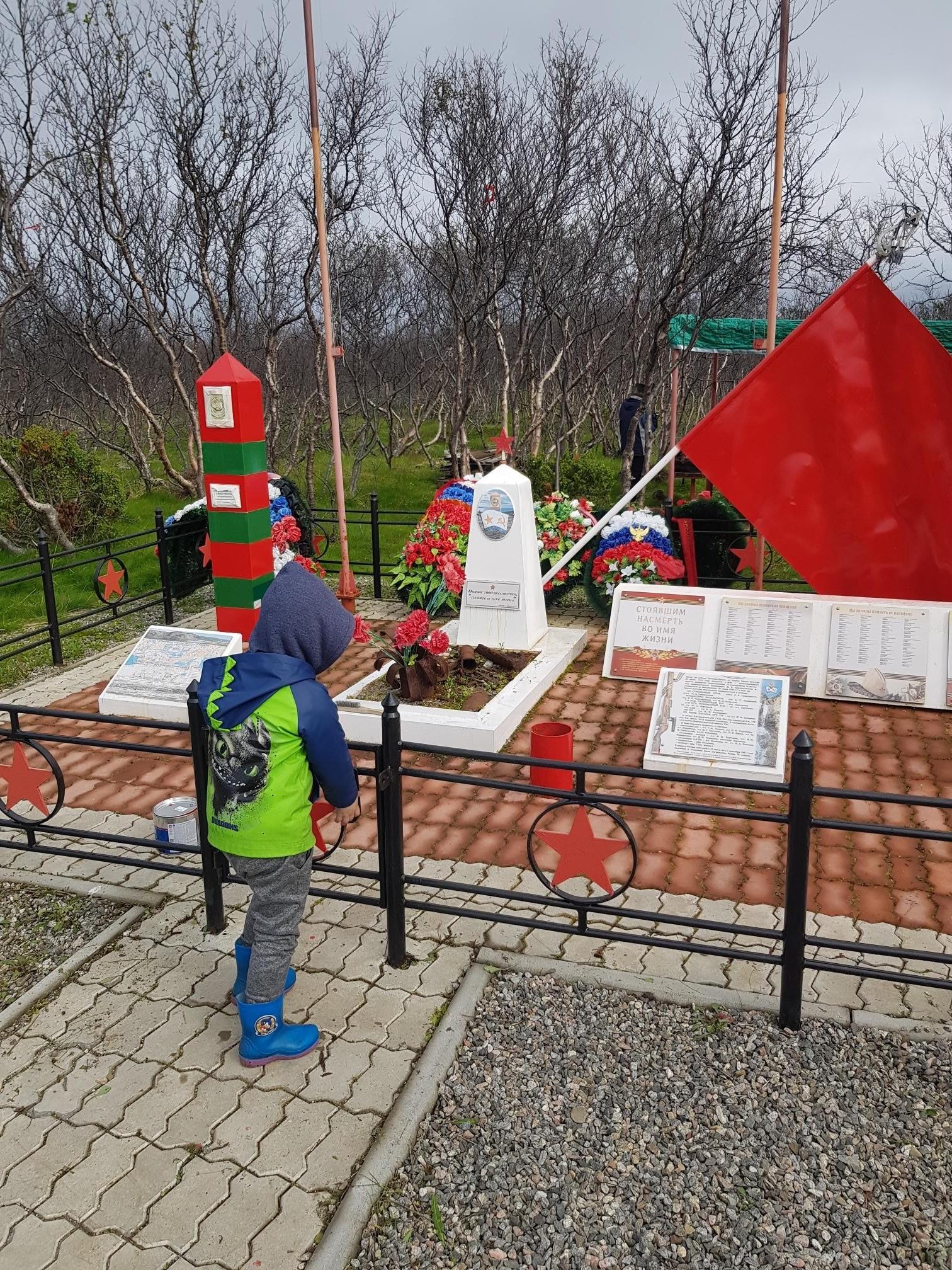 Волонтеры МТС отремонтировали мемориальный комплекс героическим защитникам Советского Заполярья 2