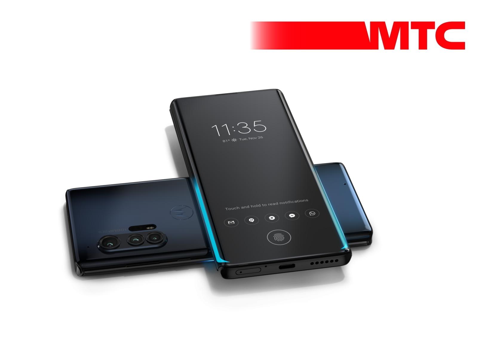 МТС, Motorola и Qualcomm представят смартфон motorola edge+ для первых сетей 5G в России 1