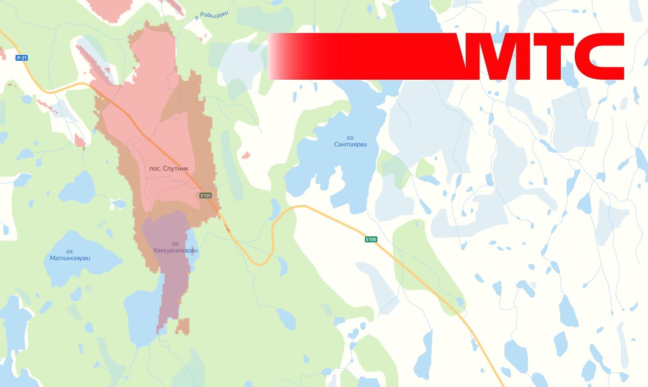 МТС запустила 4G в поселке Спутник (Мурманская область) 1