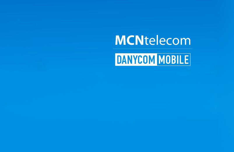 Планы MCN Telecom для абонентов DANYCOM.Mobile 1