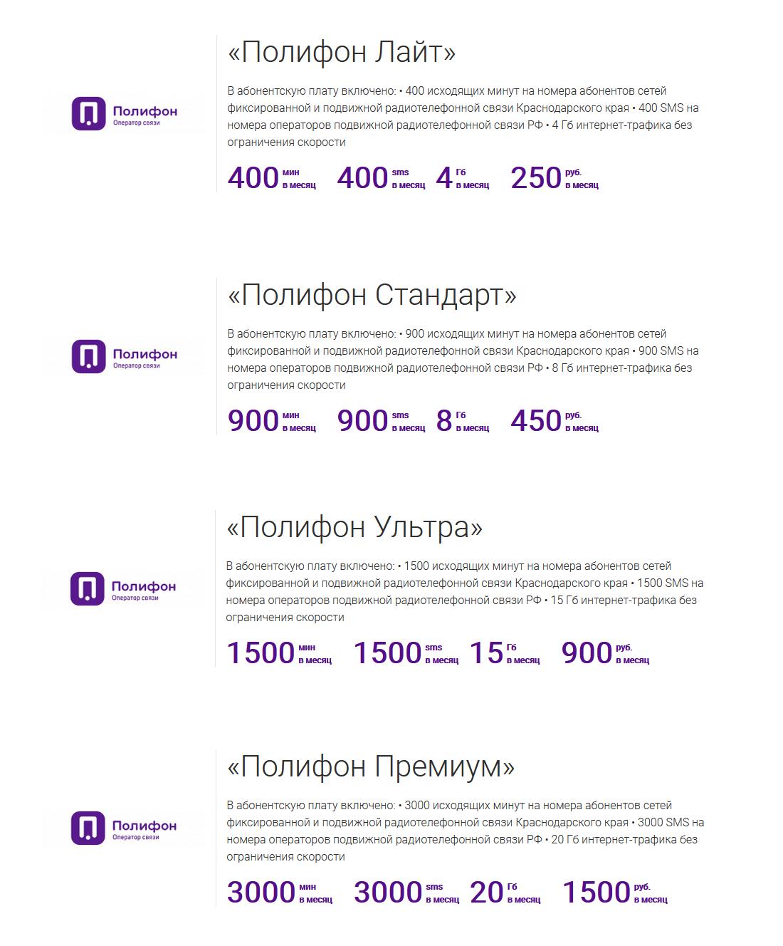 Оператор связи Полифон - новое Краснодарское чудо 2