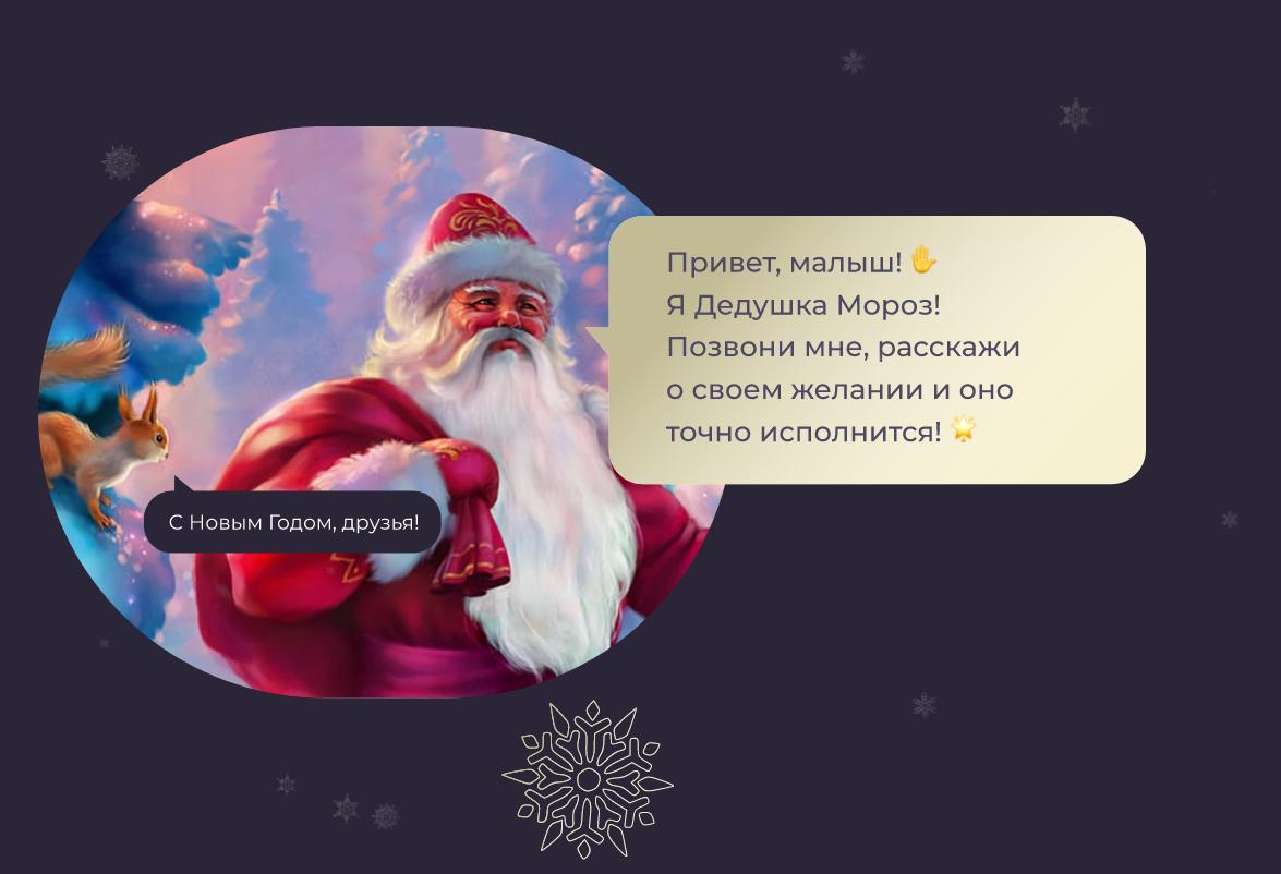 В преддверии Нового года МТТ совместно с OnlinePBX запустили традиционную ежегодную акцию «Звонок Деду Морозу». 1