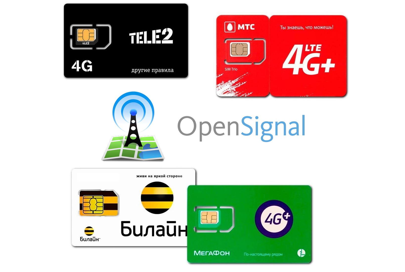 Tele2 признали лучшей по доступности 4G, разбираем признание... (+ данные от других операторов)