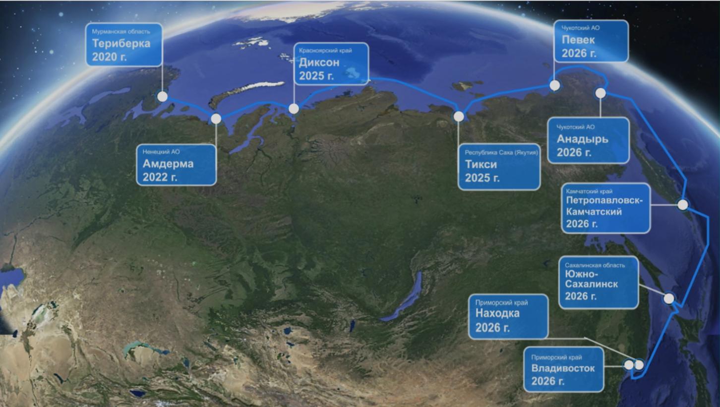 МТС и Морсвязьспутник договорились о строительстве морской ВОЛС Мурманск – Владивосток 2